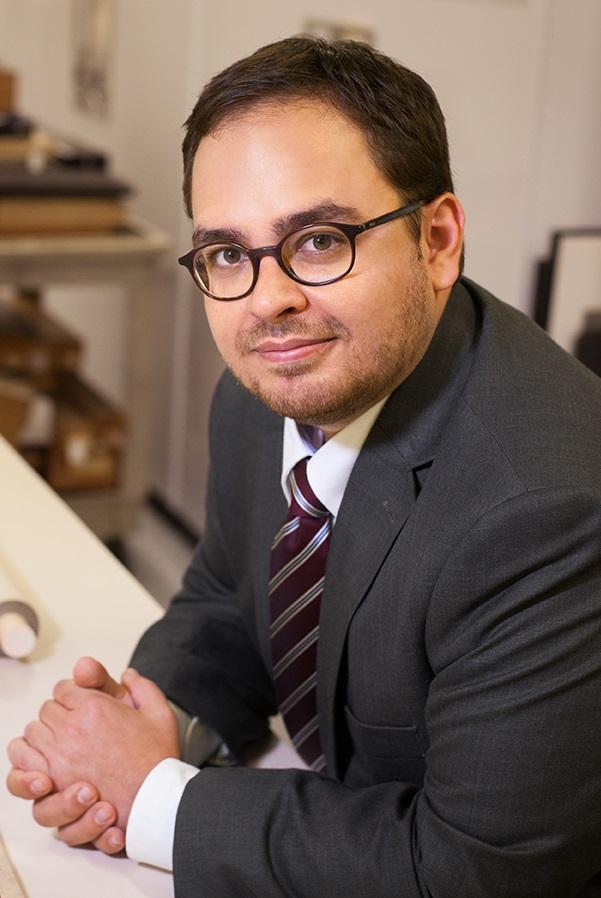 portrait of Aaron Rio