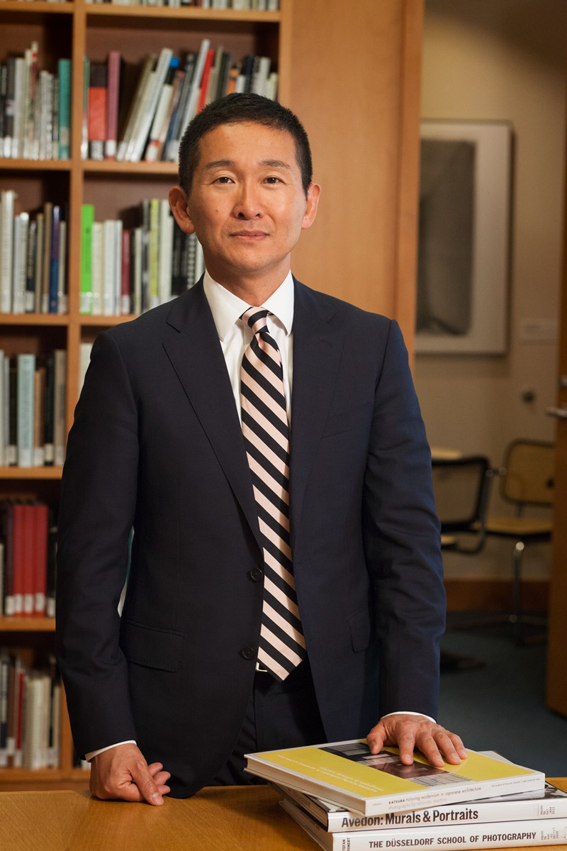portrait of Yasufumi Nakamori